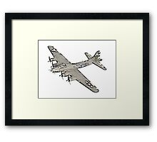 Boeing B-17 Flying Fortress Framed Print
