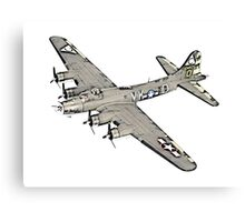 Boeing B-17 Flying Fortress Canvas Print