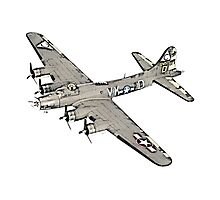 Boeing B-17 Flying Fortress Photographic Print