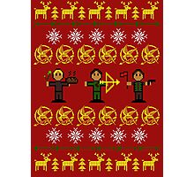Christmas Games Ugly Sweater Shirt Photographic Print