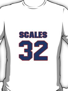 Basketball player DeWayne Scales jersey 32 T-Shirt