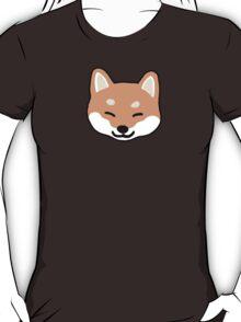 Shiba Inu Blinking T-Shirt