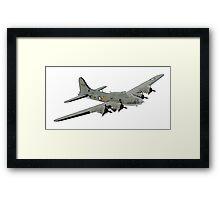 Boeing B-17 Flying Fortress Memphis Belle Framed Print