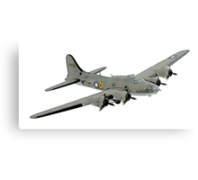 Boeing B-17 Flying Fortress Memphis Belle Canvas Print