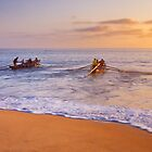 Surf Boats, Manly Beach by Matt  Lauder