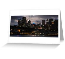 City Awakes - Sydney & Harbour Greeting Card