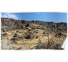 Cliffs at Vantage - Washington Poster