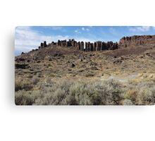 Vantage Washington Rock Pillars Canvas Print