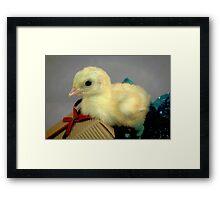 Little Chickadee Framed Print