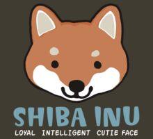 Shiba Inu: Loyal  Intelligent  Cutie Face by Jenn Inashvili