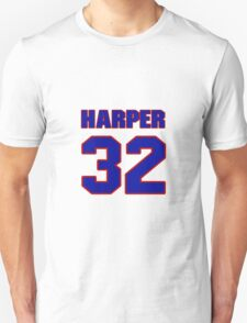 Basketball player Justin Harper jersey 32 T-Shirt