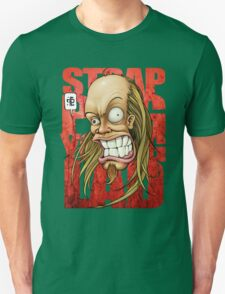 Devin Townsend Strapping Young Lad Red Letters Unisex T-Shirt