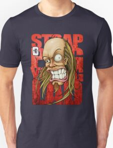 Devin Townsend Strapping Young Lad Red Letters T-Shirt