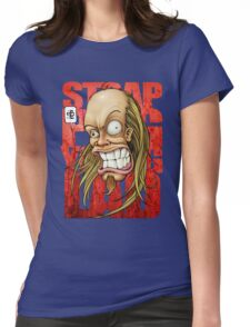 Devin Townsend Strapping Young Lad Red Letters Womens Fitted T-Shirt