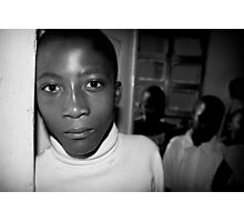 'Orphan' Mamaan Jeanne's orphanage, Democratic Republic of Congo Photographic Print