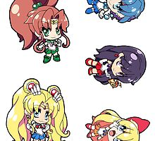 Sailor Moon - Sticker Sheet Collection by 57MEDIA