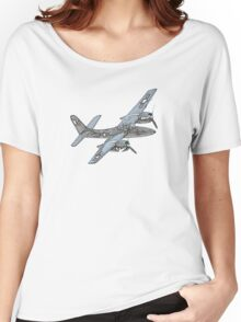 Grumman F7F Tigercat Airplane Women's Relaxed Fit T-Shirt