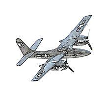 Grumman F7F Tigercat Airplane Photographic Print