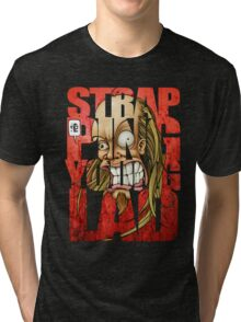 Devin Townsend Strapping Young Lad Red Letters 2 Tri-blend T-Shirt