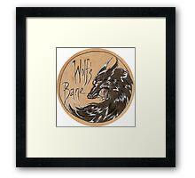 Wolf's Bane Rnd Framed Print