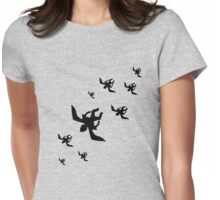 flying monkeys Womens Fitted T-Shirt