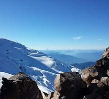 View of Glacier and Rainier from Baker by bnmchone
