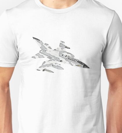 Panavia Tornado jet airplane Unisex T-Shirt