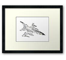Panavia Tornado jet airplane Framed Print