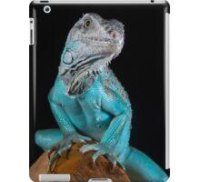 Blue Iguana iPad Case/Skin