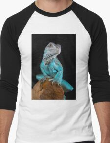 Blue Iguana Men's Baseball ¾ T-Shirt