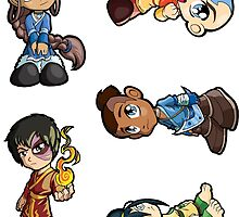 Avatar: The Last Airbender - Sticker Sheet Collection by 57MEDIA