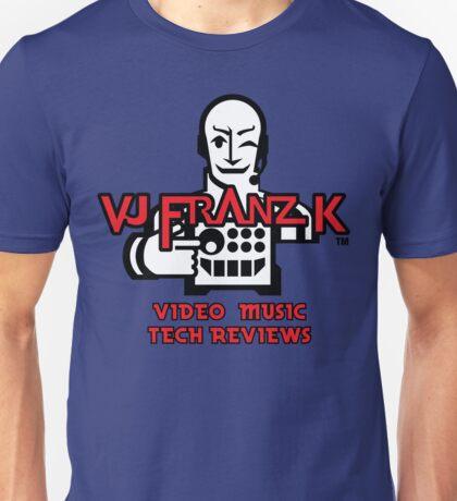 VJ FRANZ K Character Logotype Unisex T-Shirt