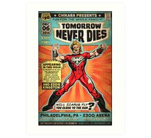 CHIKARA's Tomorrow Never Dies - Official Wrestling Poster Art Print