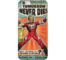 CHIKARA's Tomorrow Never Dies - Official Wrestling Poster iPhone Case/Skin