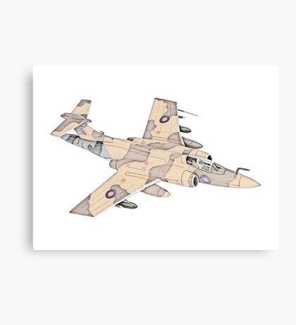 Blackburn Buccaneer aircraft Canvas Print
