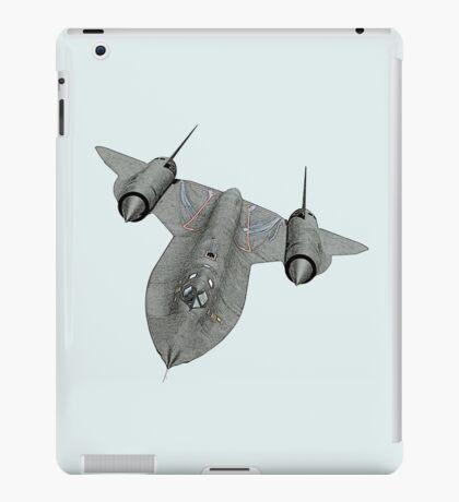 SR71 Blackbird aircraft iPad Case/Skin