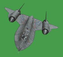 SR71 Blackbird aircraft Kids Clothes