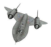 SR71 Blackbird aircraft by surgedesigns