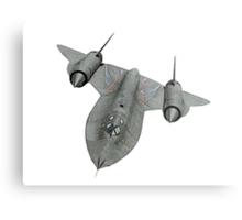 SR71 Blackbird aircraft Metal Print