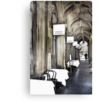 'Your Table is Waiting'  Canvas Print