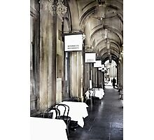 'Your Table is Waiting'  Photographic Print