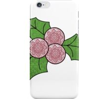 Christmas Holly! iPhone Case/Skin
