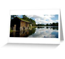 Norwegian Hut Panorama  Greeting Card