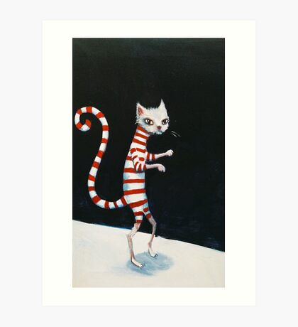 Cat Walk Art Print