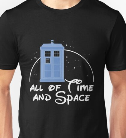 Dr Who All Of Time And Space Unisex T-Shirt