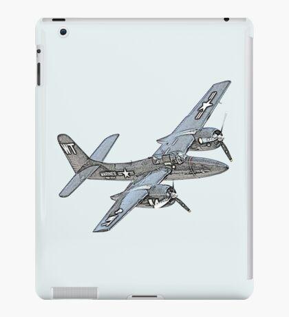 Grumman F7F Tigercat aircraft iPad Case/Skin
