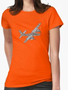 Grumman F7F Tigercat aircraft Womens Fitted T-Shirt