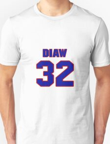 Basketball player Boris Diaw jersey 32 T-Shirt