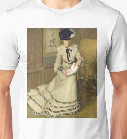 Frederick Carl Frieseke - Girl Reading Unisex T-Shirt