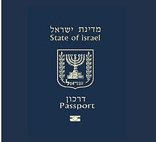 ISRAELI PASSPORT  by Nornberg77